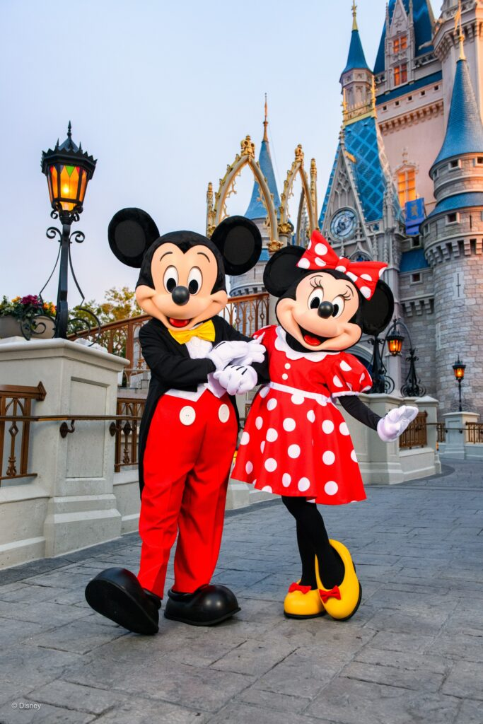 Disney World FAQs with Mickey and Minnie