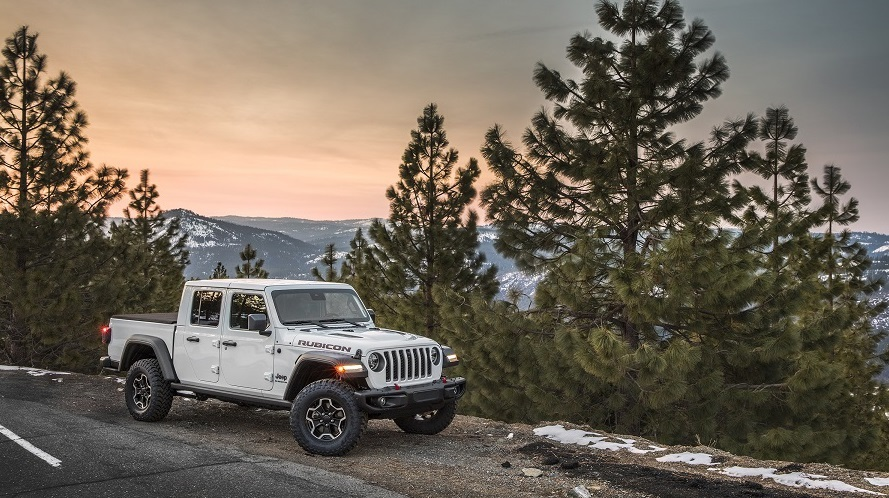 Jeep Gladiator, one of the best family road trip vehicles