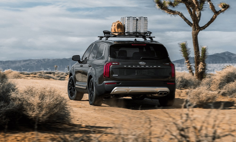 Kia Telluride, one of the best family road trip vehicles