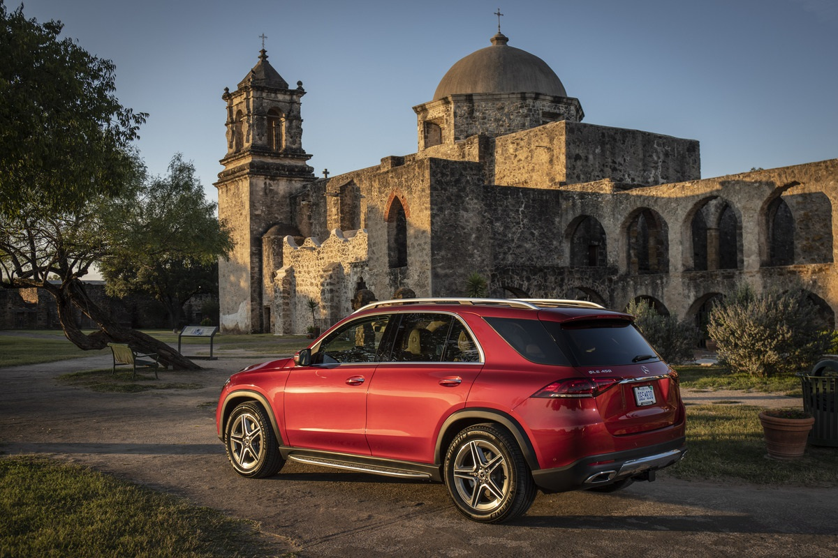 Mercedes-Benz GLE 450, one of the best family road trip vehicles