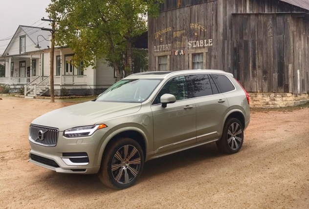 Volvo XC-90, one of the best family road trip vehicles