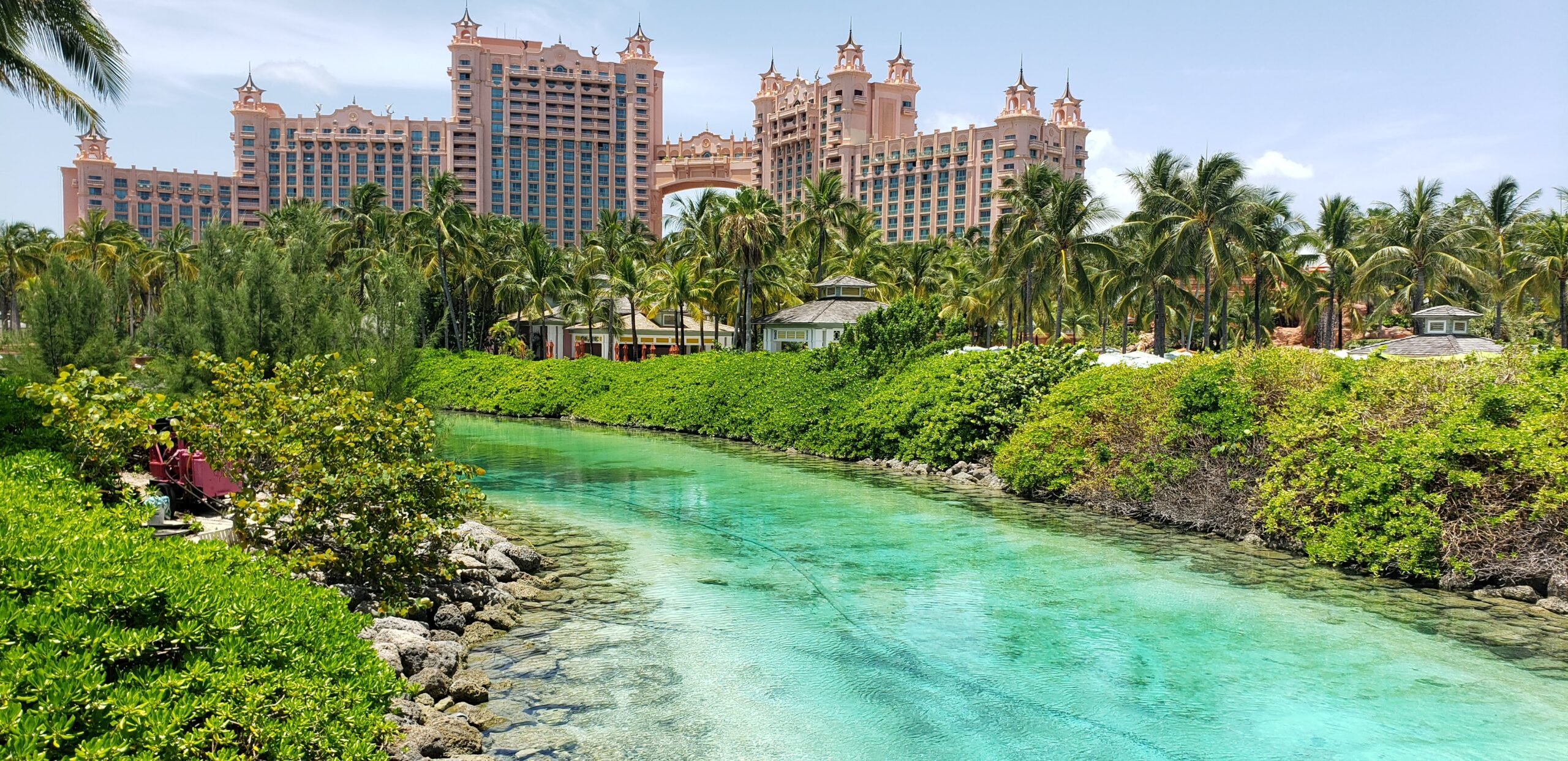 The Atlantis Resort Paradise Island is a sprawling playland featuring an aquaventure water park, marine habitat and so much fun for families