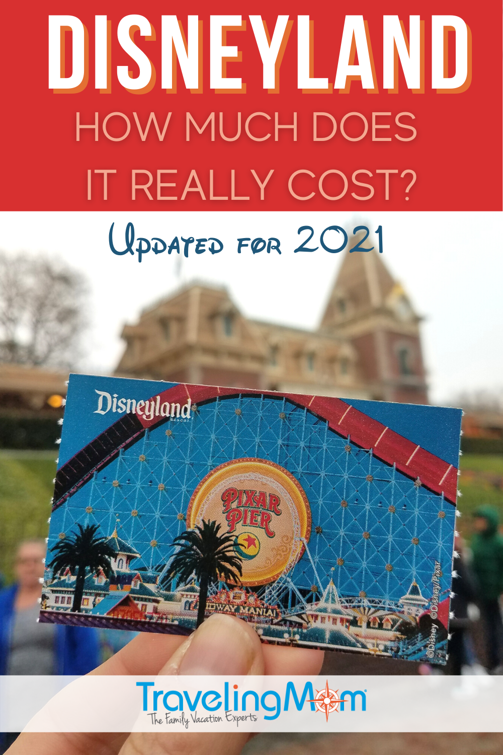 Pin for Disneyland ticket prices post