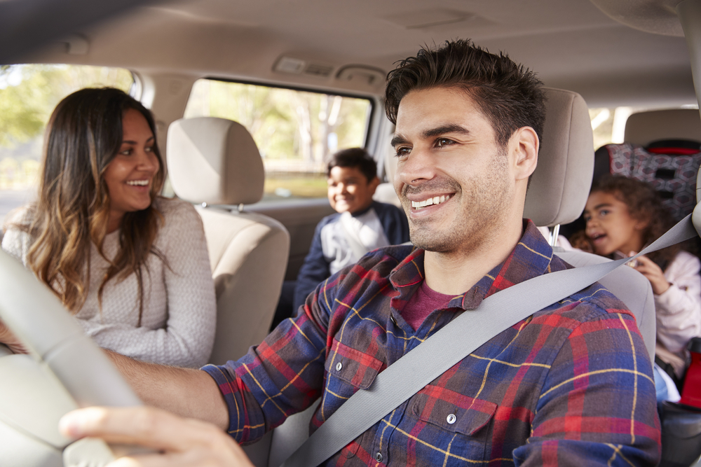 Family trip in car - Should you Uber with kids?