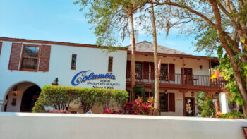 The Columbia is one of many wonderful St. Augustine restaurants.