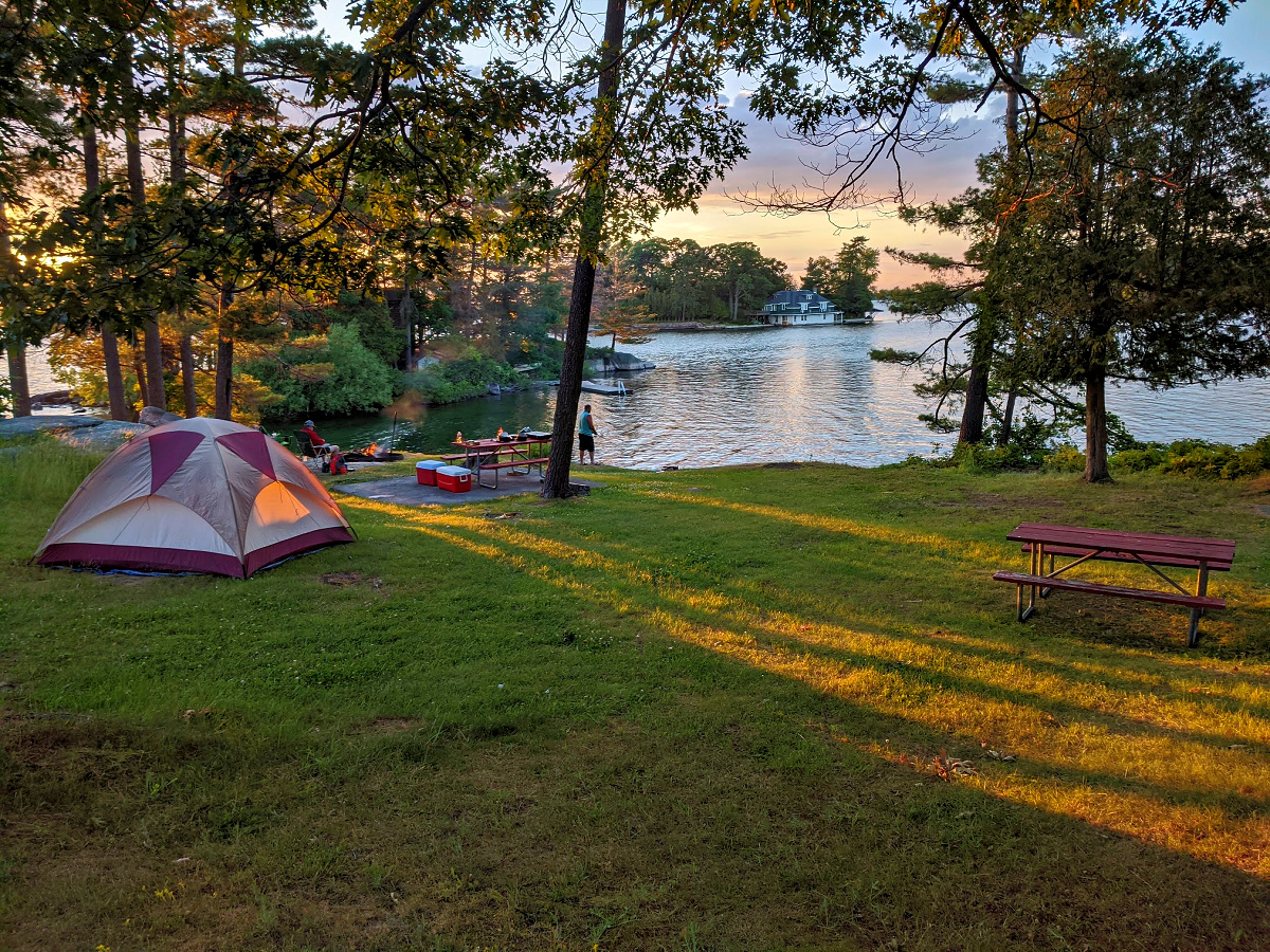 Affordable family vacations in New York state include the Thousand Islands region Photo: Yvonne Jasinski