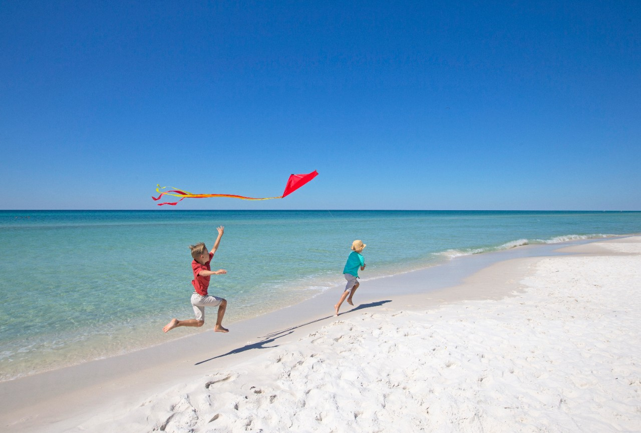Walton Beach is one of the best Florida Panhandle beaches.