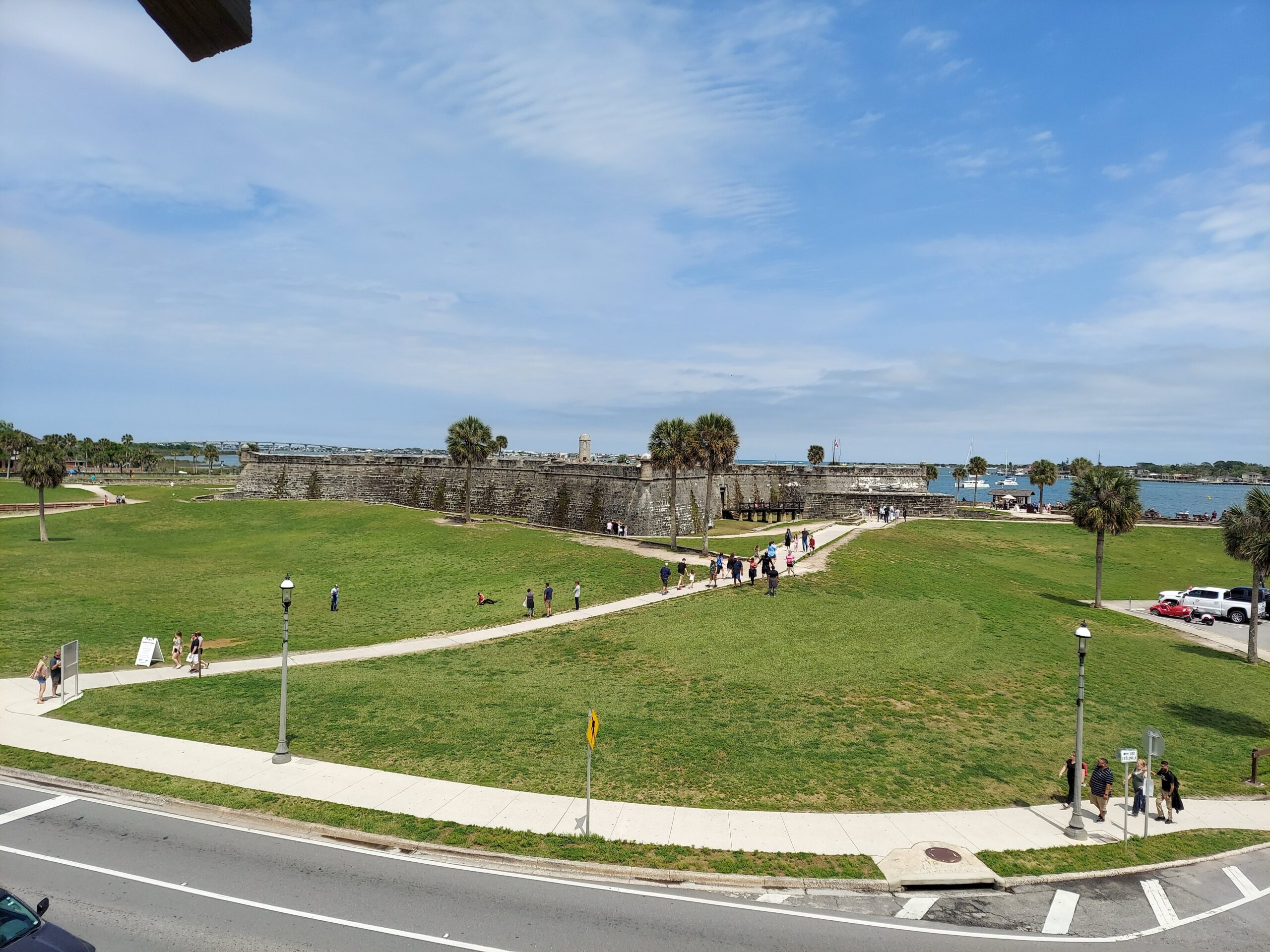 The Castillo de San Marcos National Monument is one of the best things to do in St. Augustine.