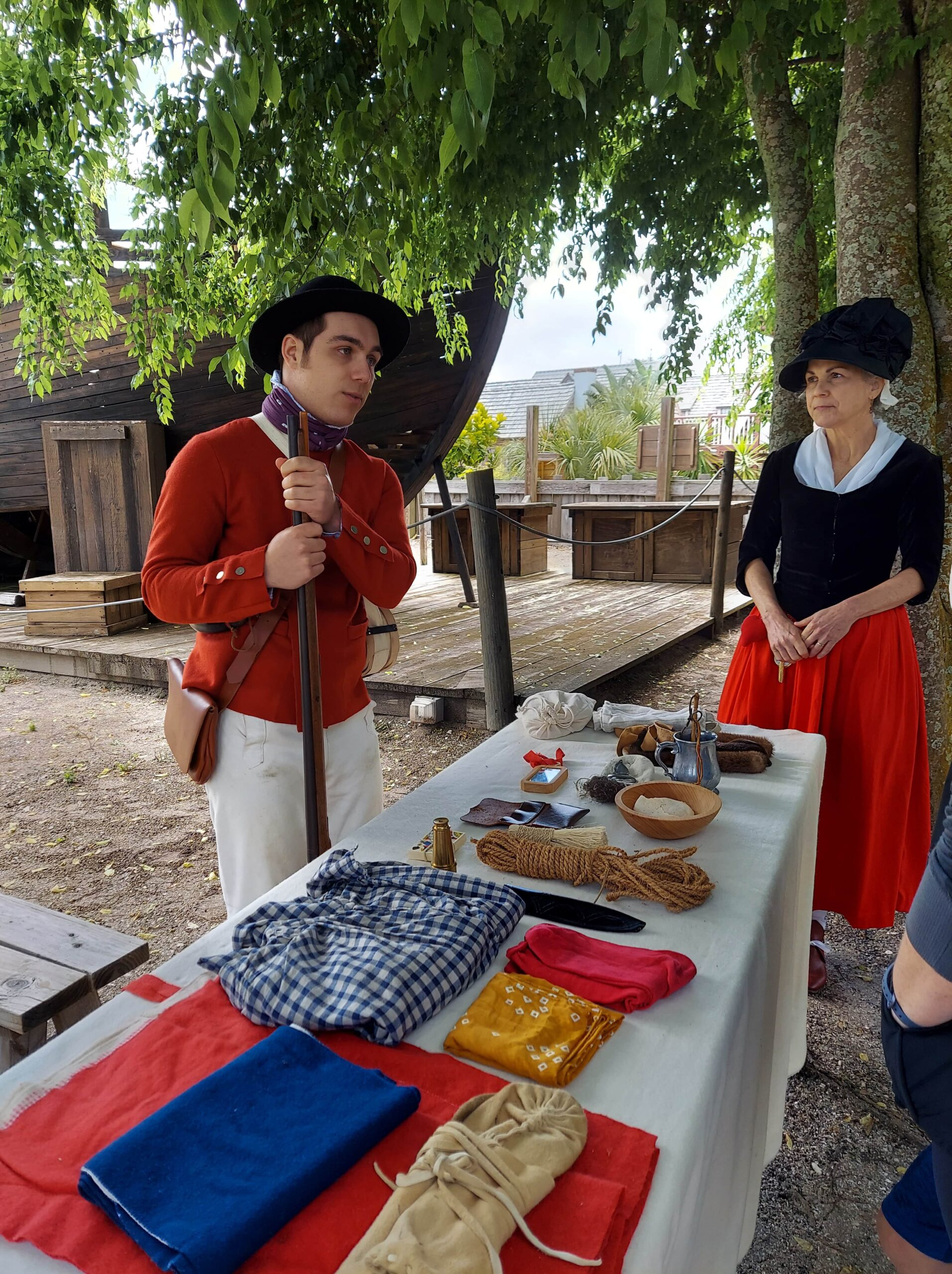 The Colonial Quarter shows families a glimpse of life in early St. Augustine.