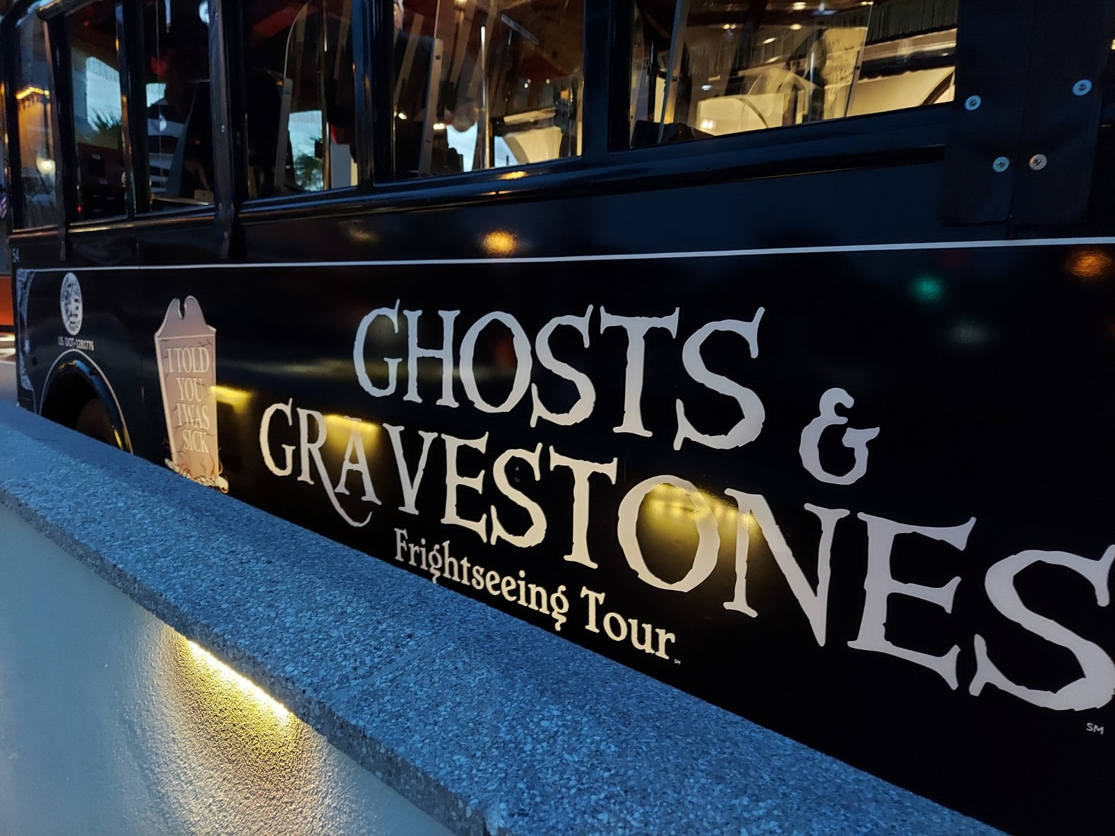 Ghosts and Gravestones St. Augustine is a fun trolley ghost tour.