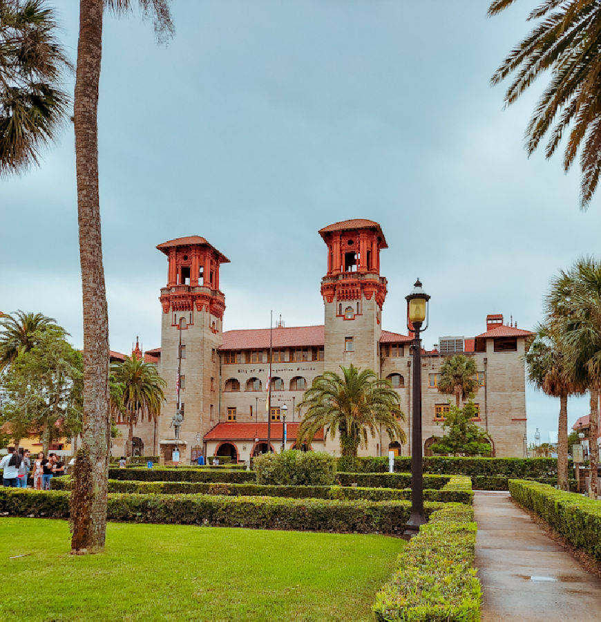 The Lightner Museum building in St. Augustine is a work of art in itself.