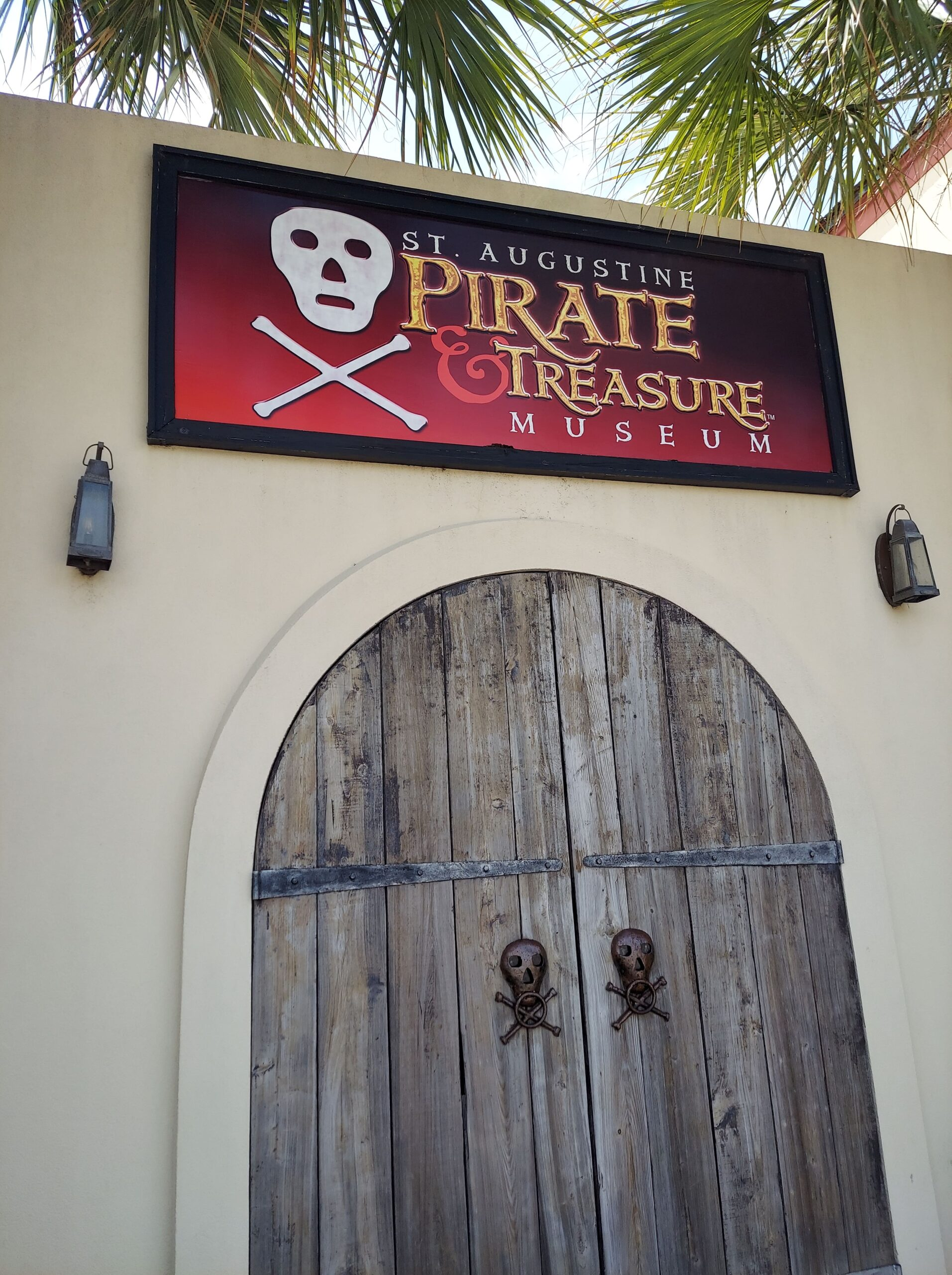 The St. Augustine Pirate and Treasure Museum is one of the most fun things to do with kids in St. Augustine.