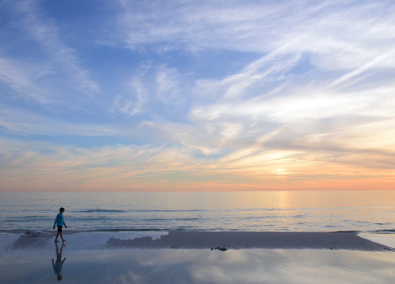 Santa Rosa Beach is one of the best Florida Panhandle beaches.