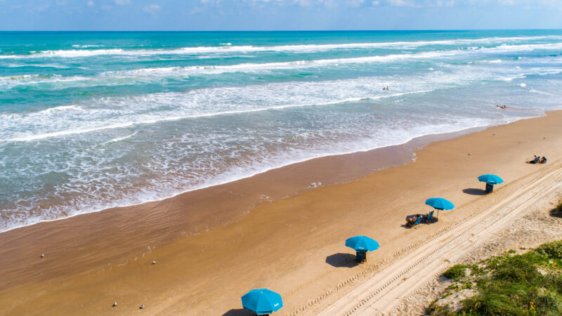 One of the best beaches in Texas - and one of the most popular - is South Padre Island