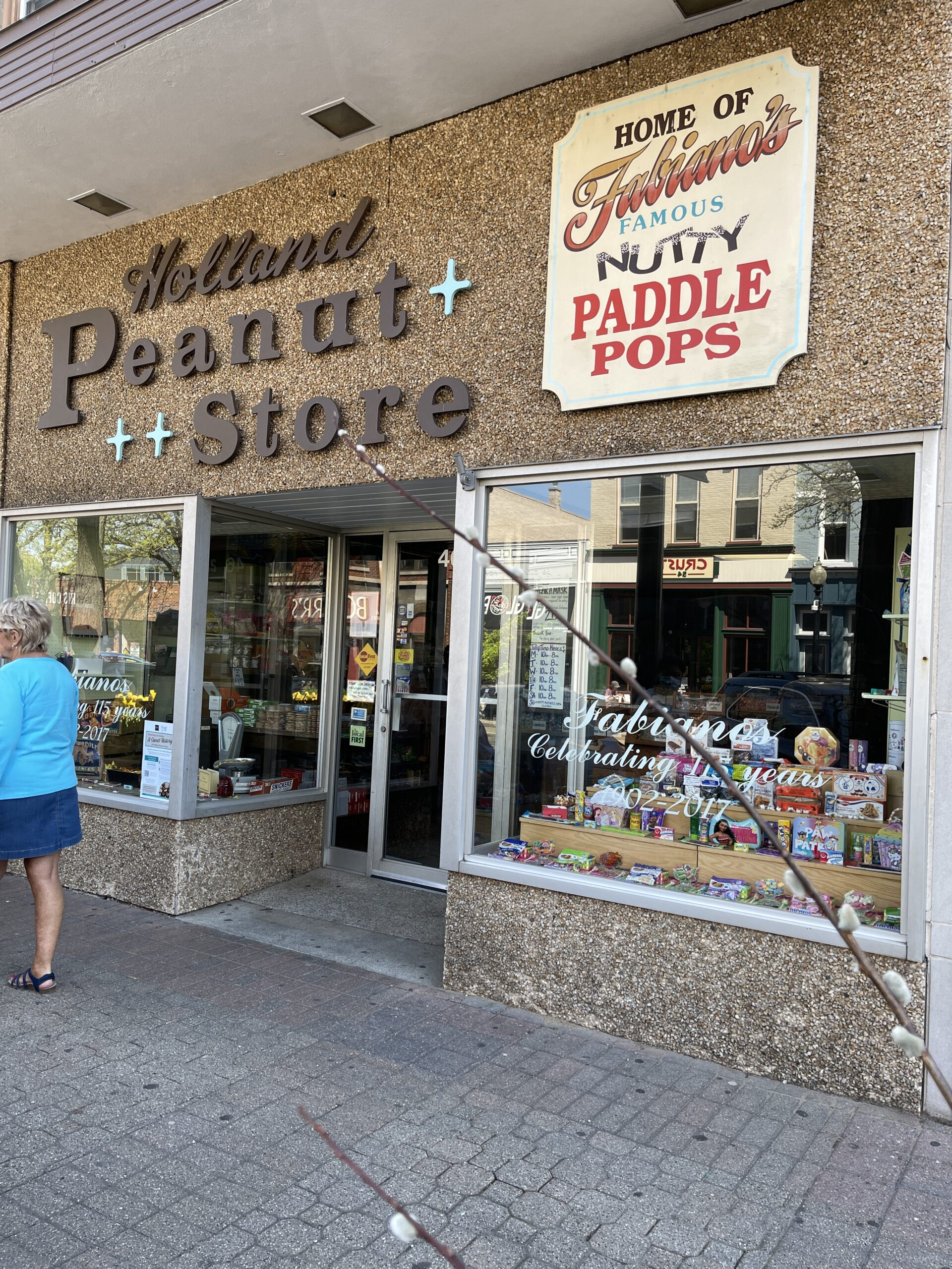 Holland Peanut Store in downtown Holland, MI