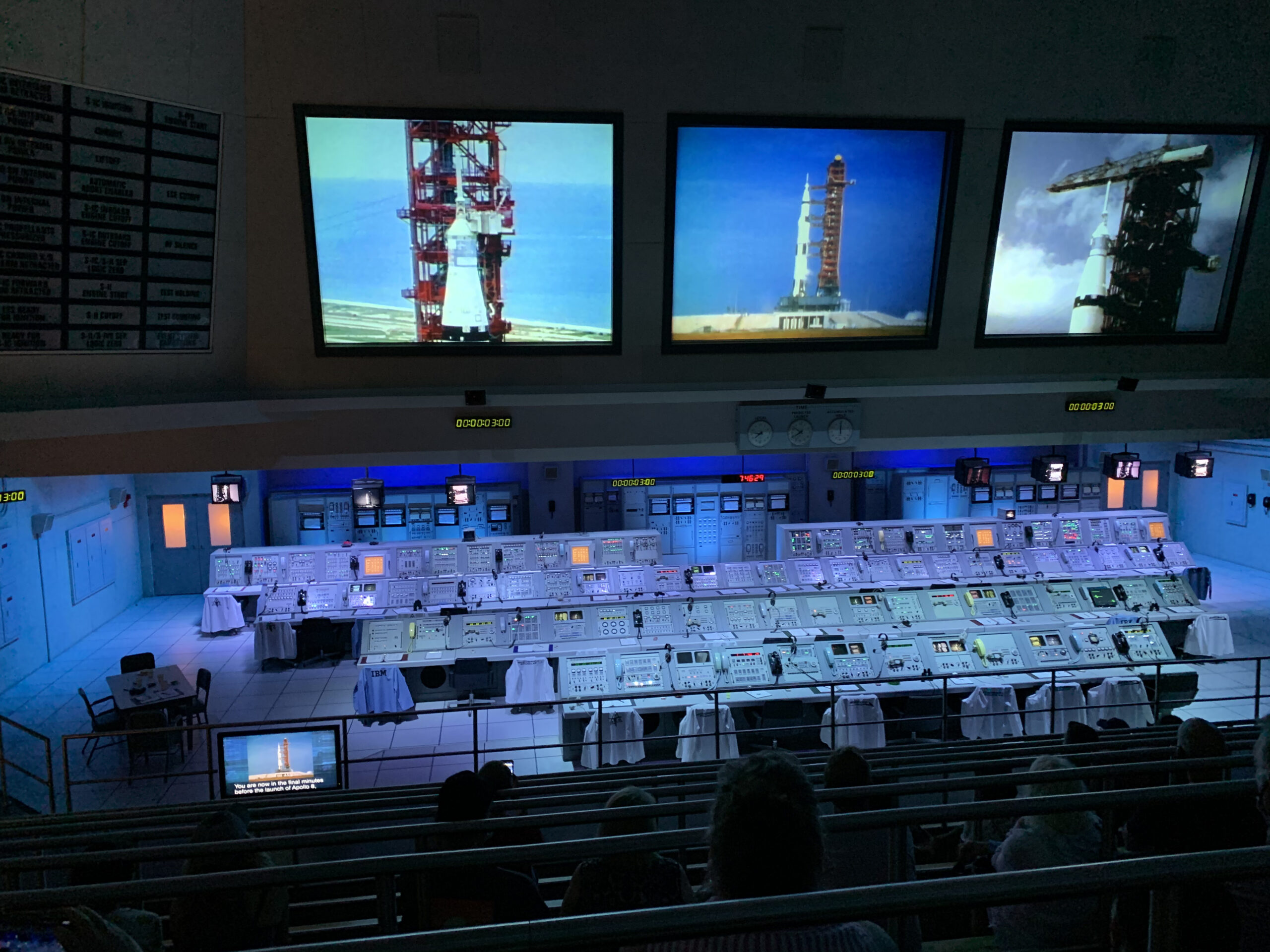 Kennedy Space Center Control Center at the Apollo Saturn 5 Center