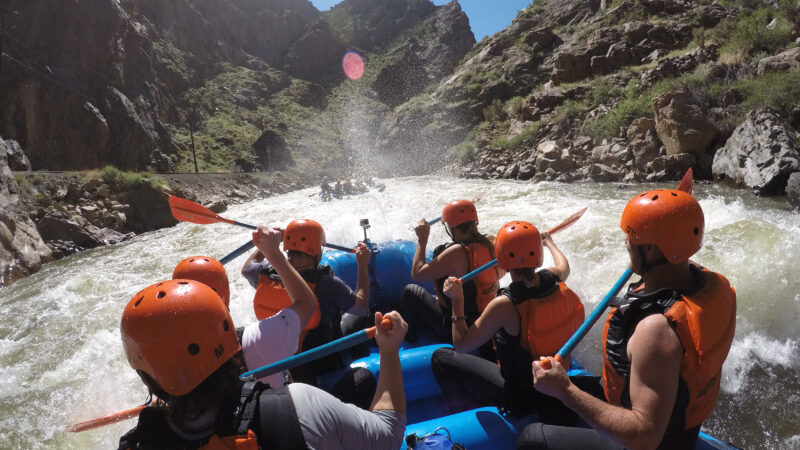 white water rafting the royal gorge