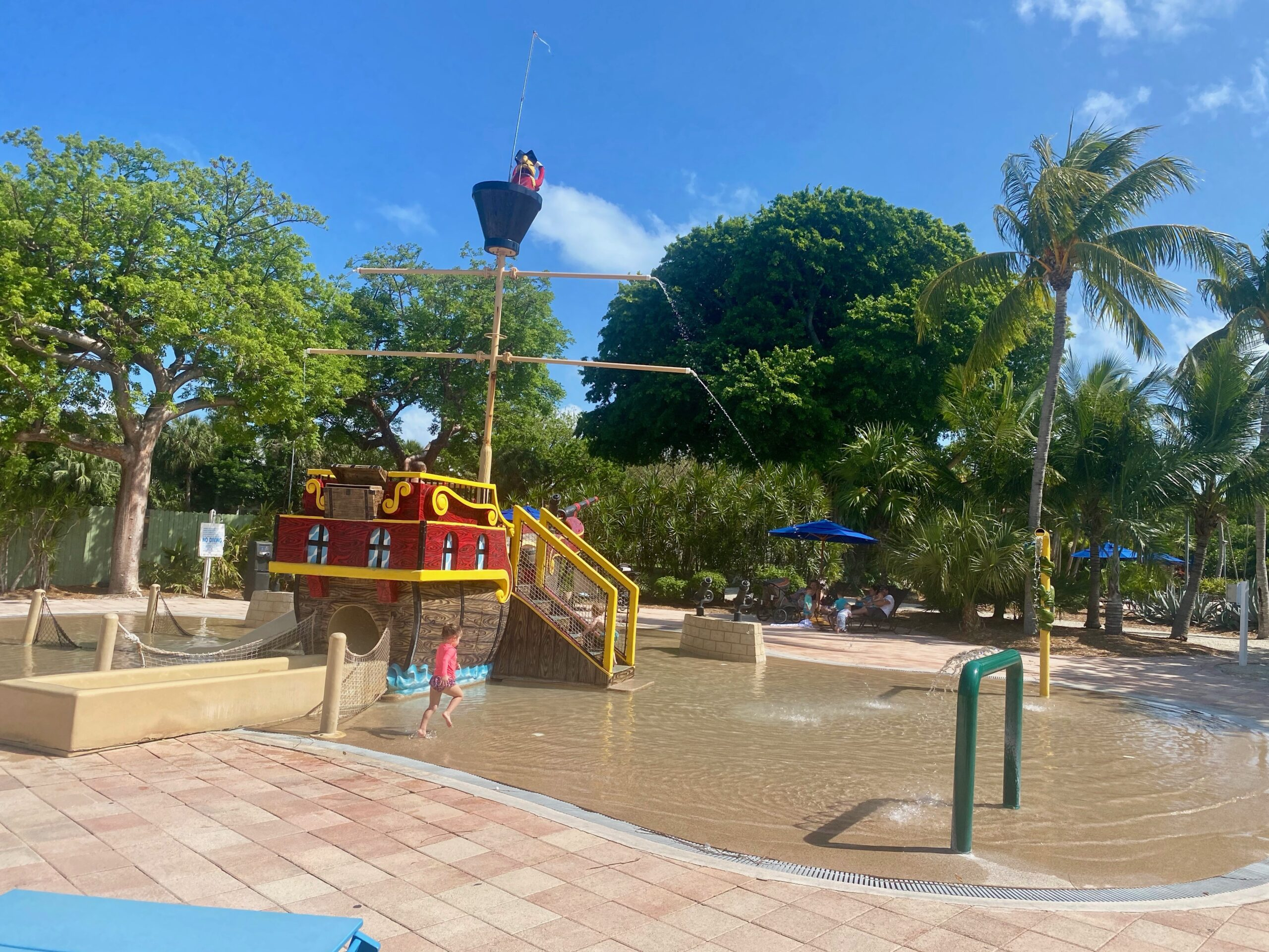 Pirate Ship Pool at Hawks Cay, one of the fun things to do with kids