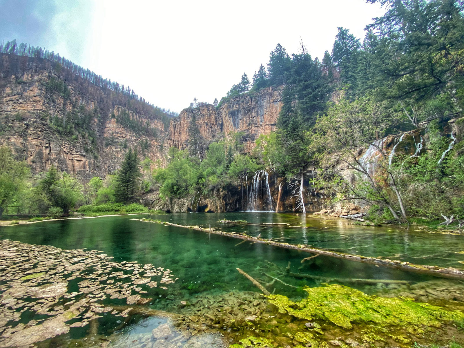 Hanging Lake should be a stop on any Colorado road trip. Reservations required.