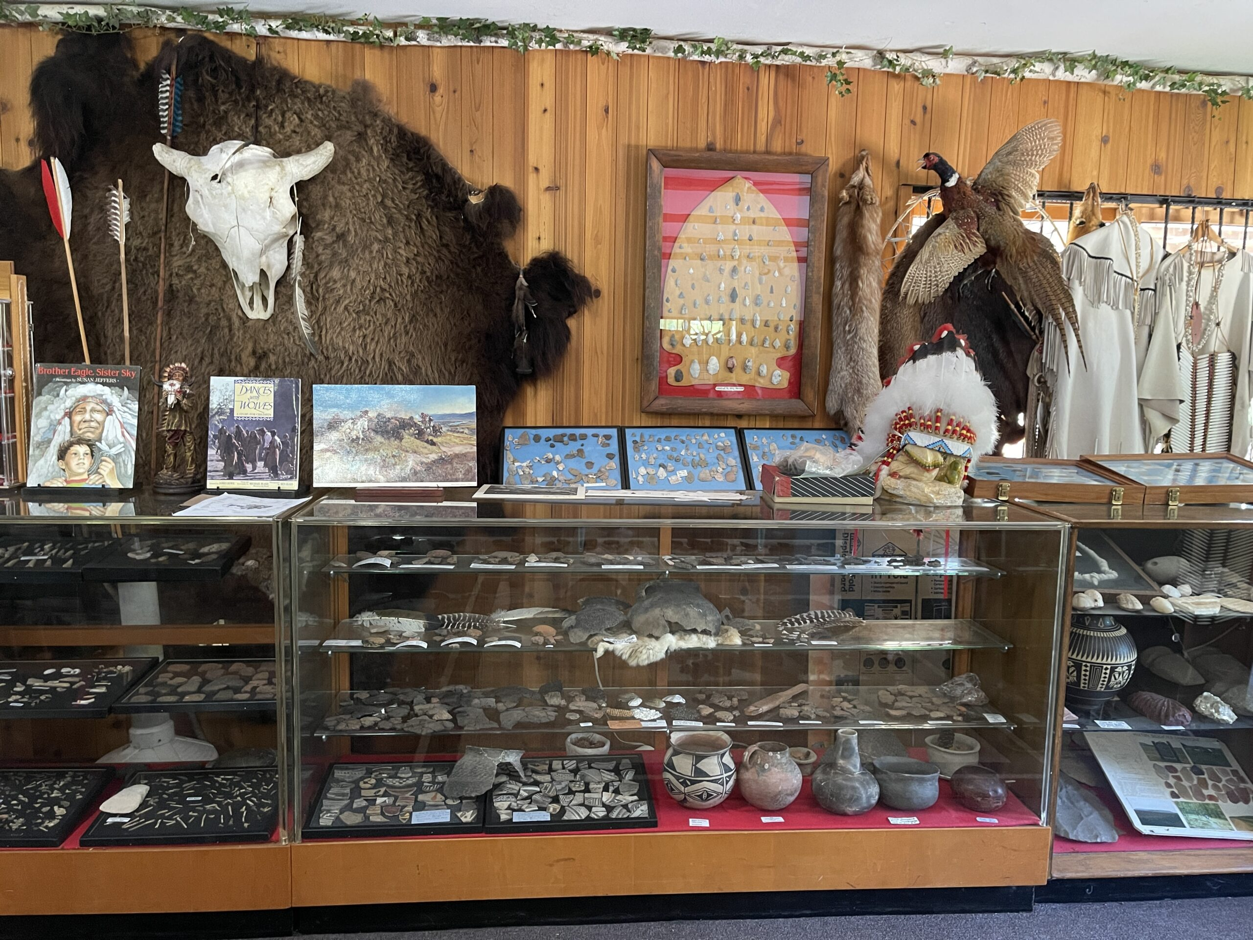 Henschel's Indian Museum is a unique attraction in Elkhart Lake, WI.