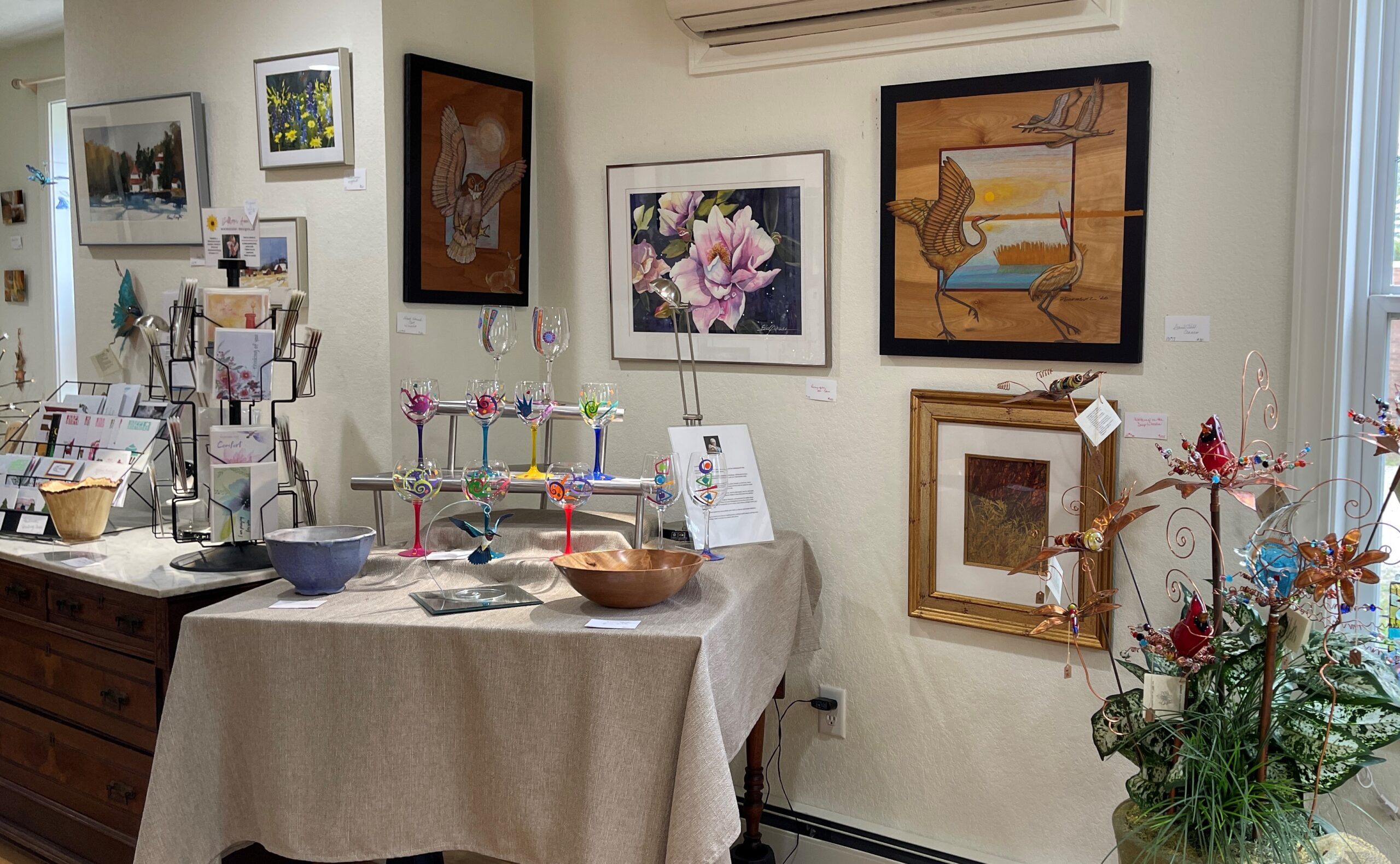 Check out the Little Shop of Art in Elkhart Lake, WI.