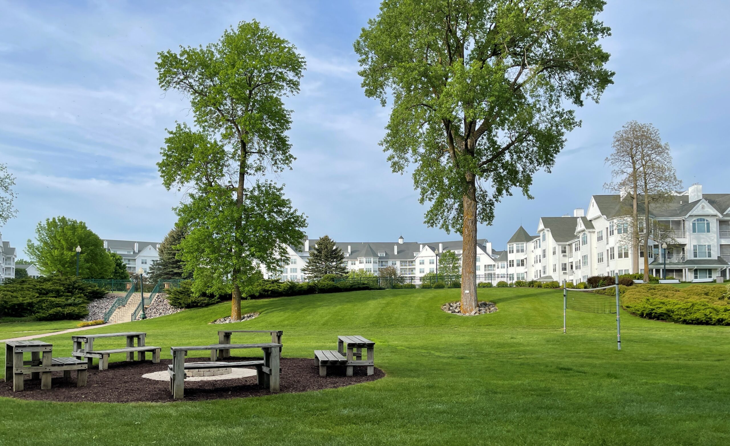 The Osthoff Resort is the oldest resort in Elkhart Lake, WI.