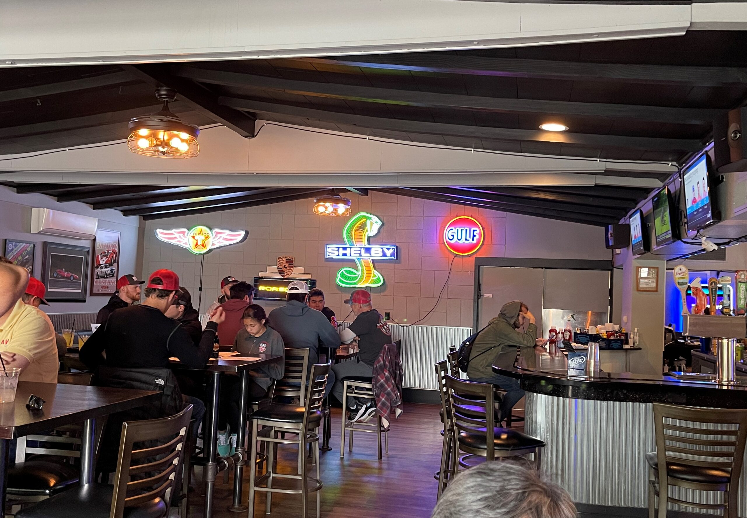 the route 67 saloon is one of the most fun elkhart lake restaurants.