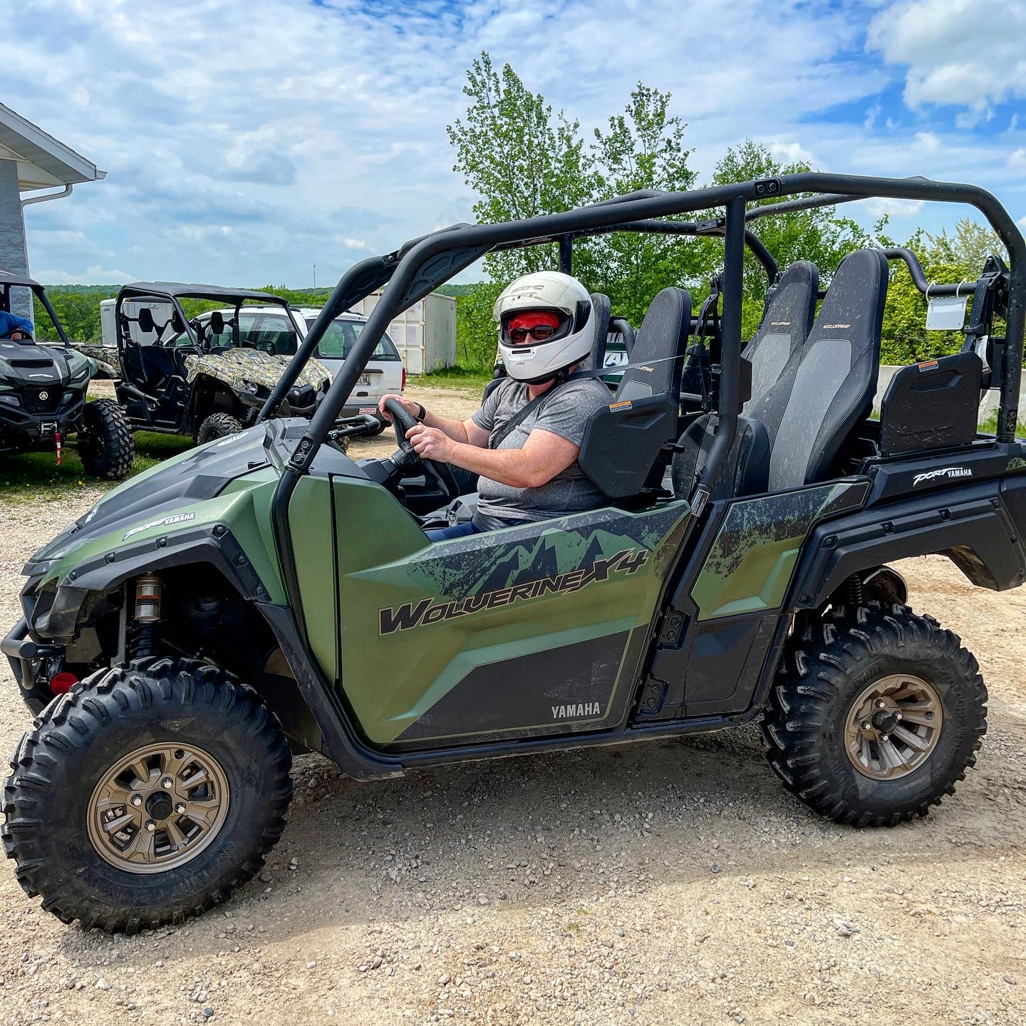 You can go offroading at Road America in Elkhart Lake, WI.