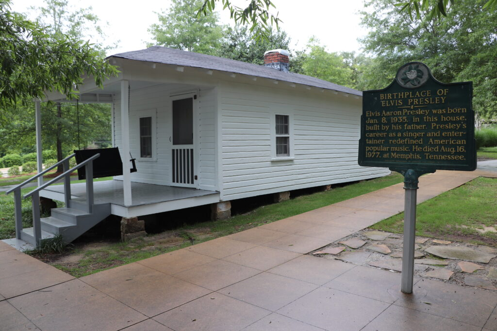 The Elvis Presley Birthplace, one of the things to do in Tupelo MS