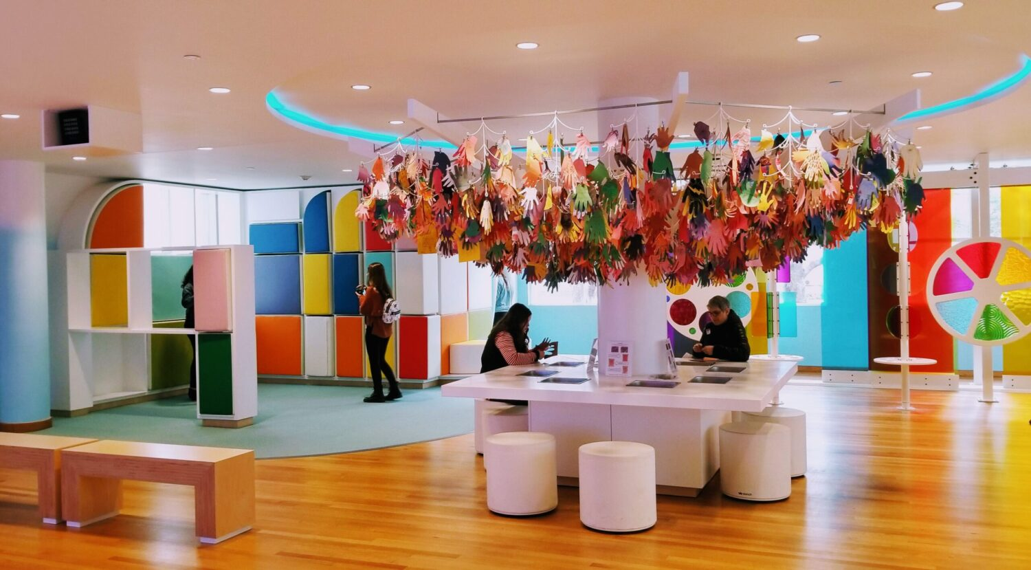 High Museum of Art in Atlanta offers lots of activities for kids of all ages.