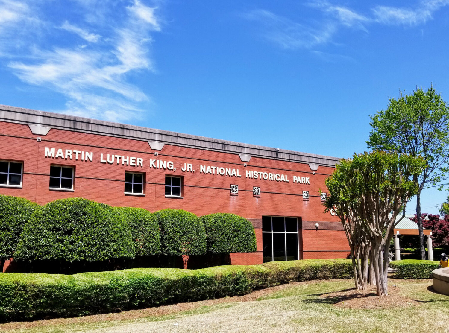 The Dr. Martin Luther King Jr. National Historic Park is one of the best things to do in Atlanta with kids