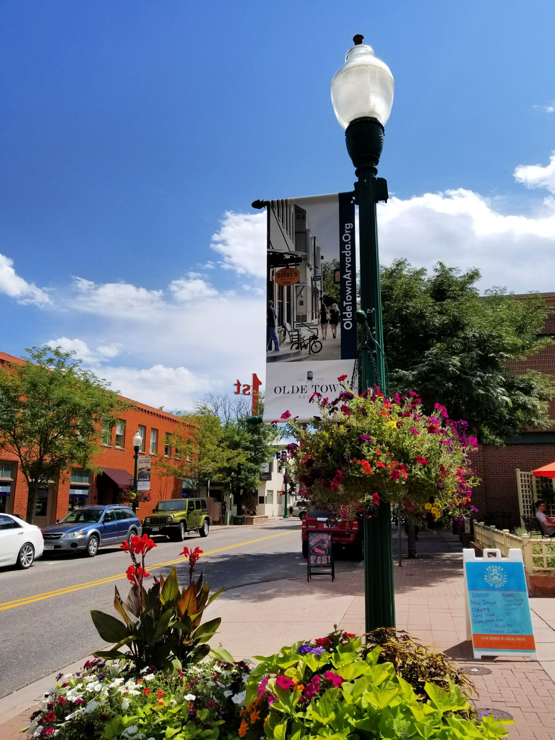 Olde Town Arvada is a beautiful, family-friendly suburb of Denver, Colorado. Photo: Diana Rowe