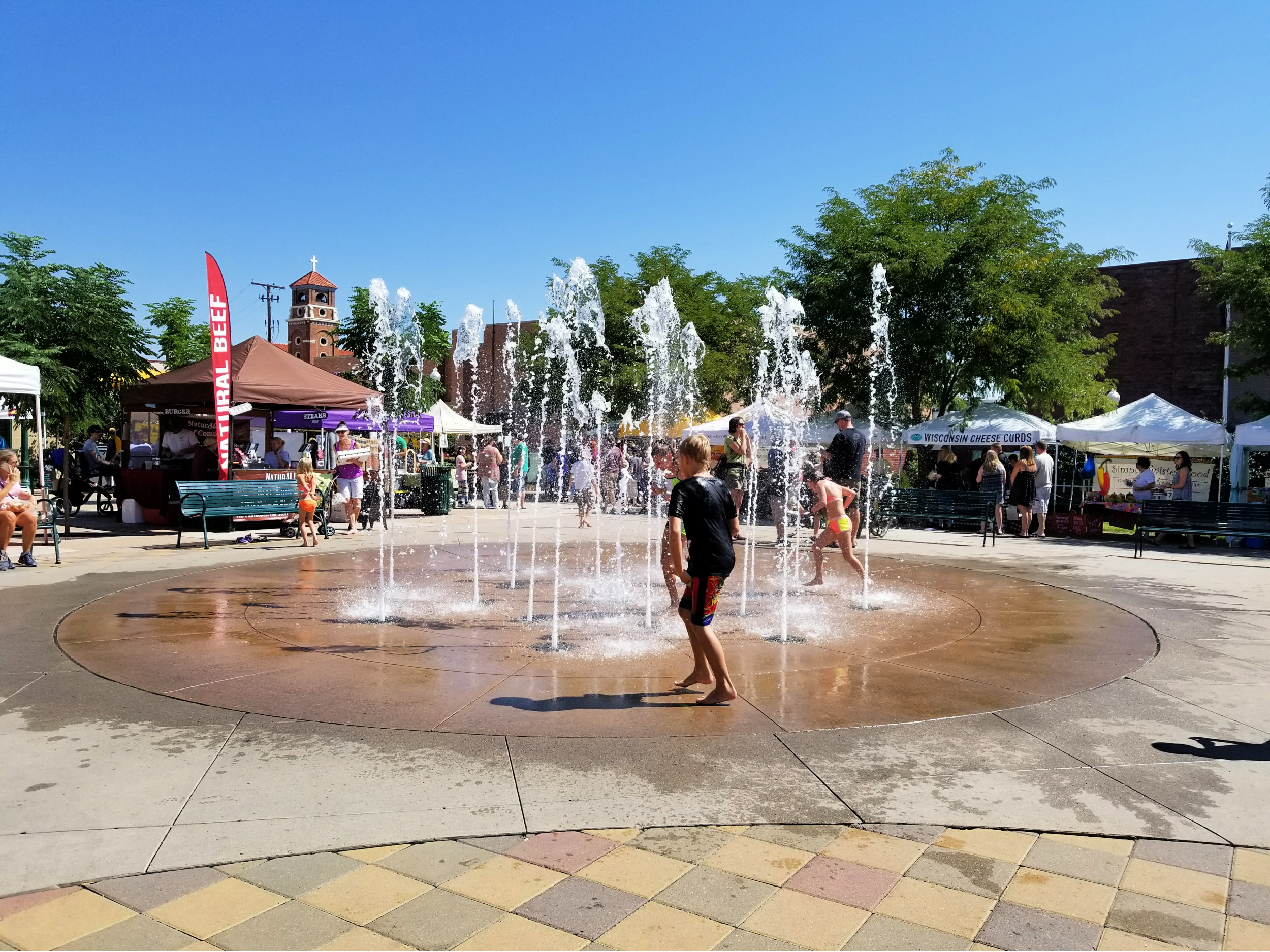 Scrumptious Arvada is located a few blocks from Olde Town Arvada Square and a chance for the kids to cool off in its splash pad. Photo: Diana Rowe