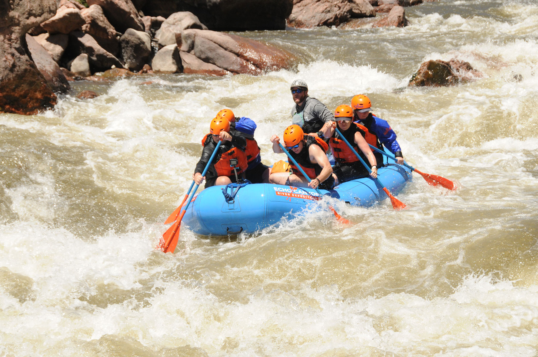 white water rafting tips on the royal gorge