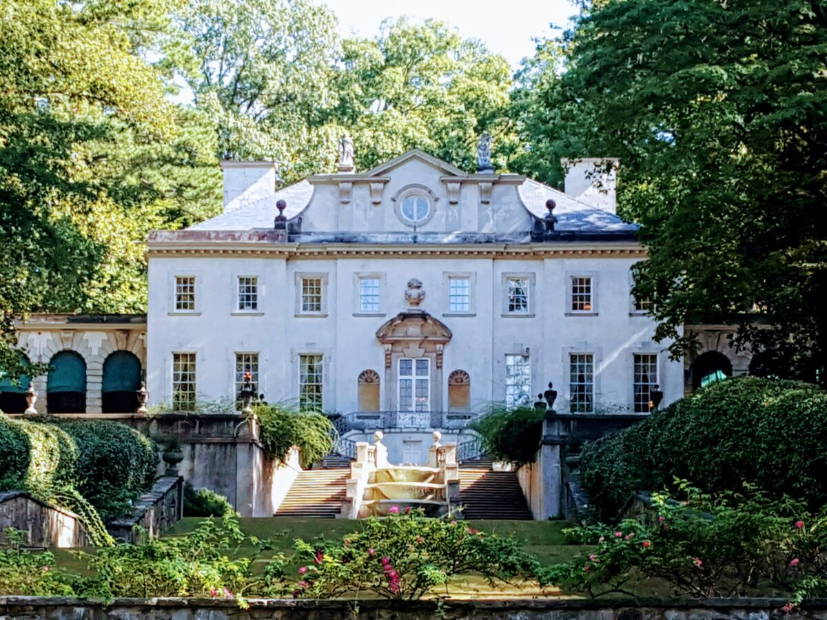 Be sure to take a tour of the beautifully restored Swan House at Atlanta History Center.