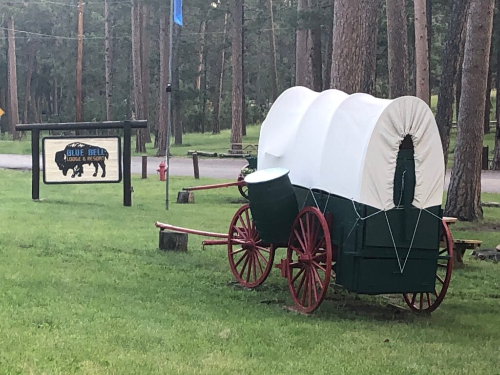 Chuckwagon at Blue Bell Lodge in Custer State Park