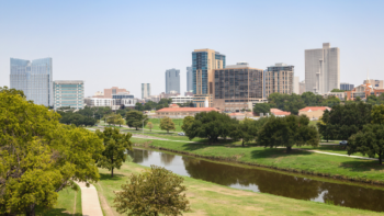 things to do in Fort Worth with kids city view