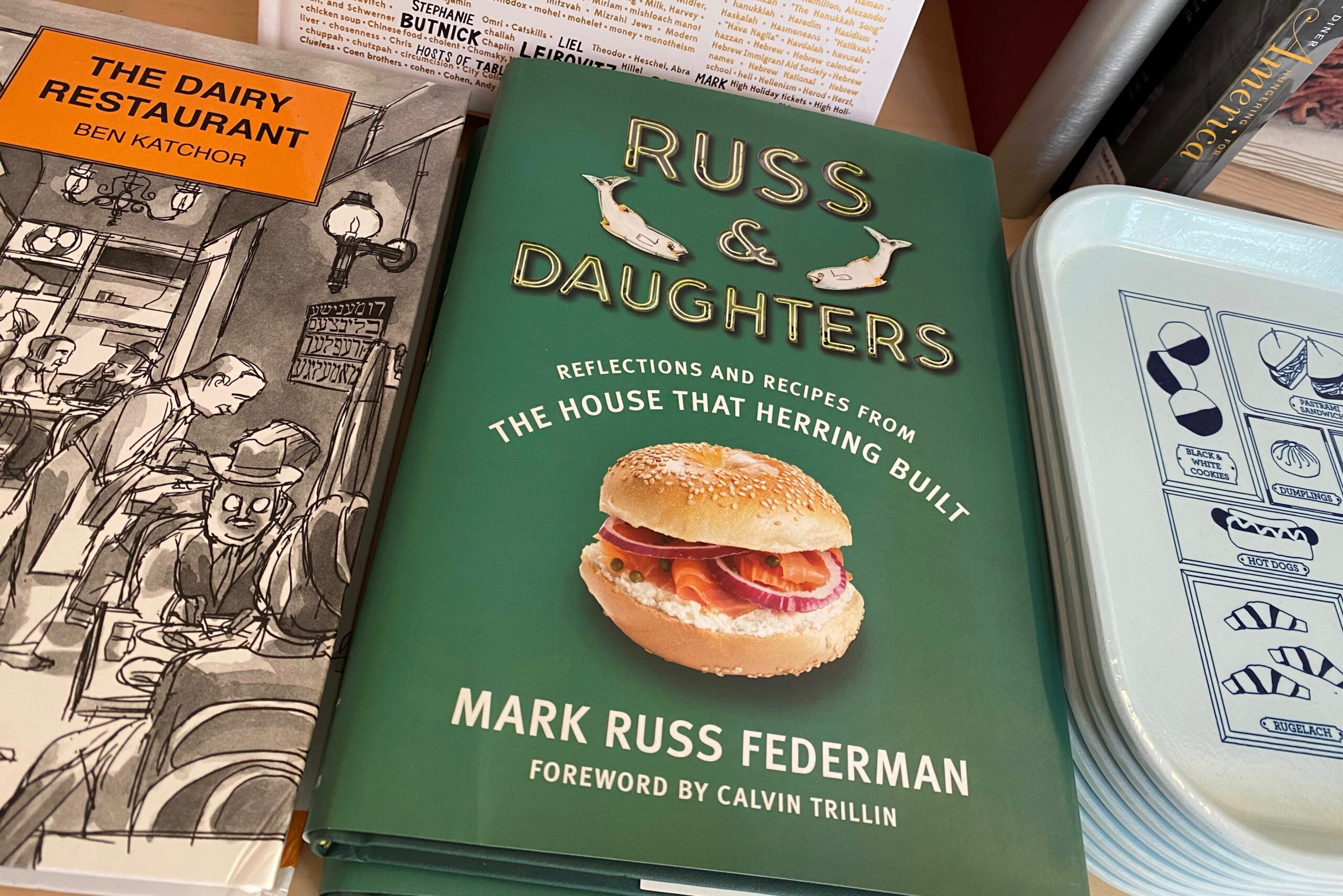 russ and daughters nyc lower east side restaurant cookbook cover