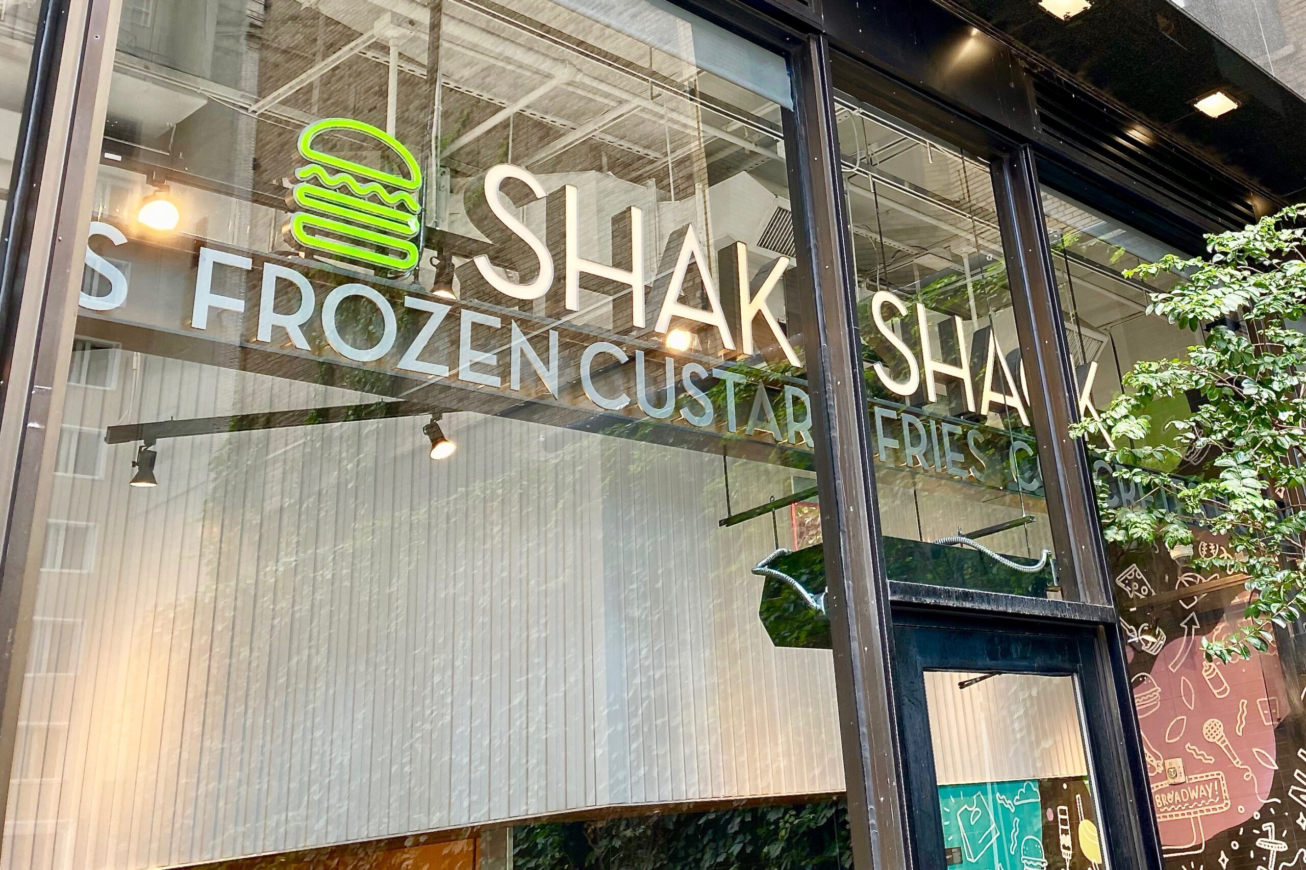 NYC Theater District Shake Shack