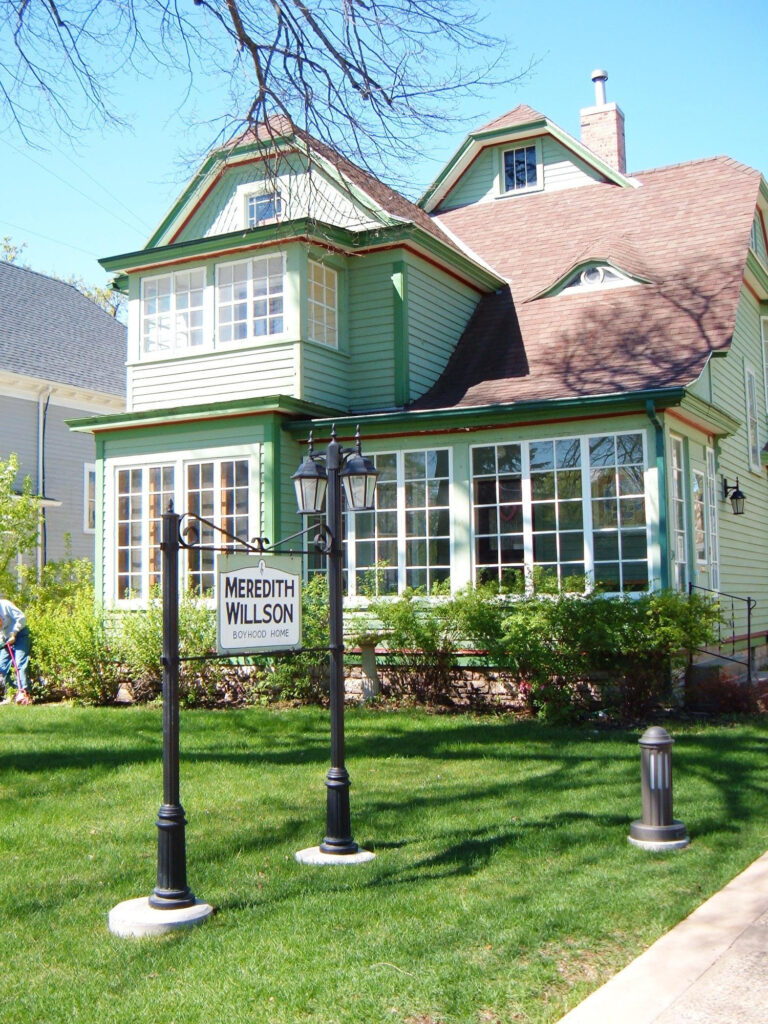 Visit the Meredith Willson boyhood home, one of the things to do in mason city iowa