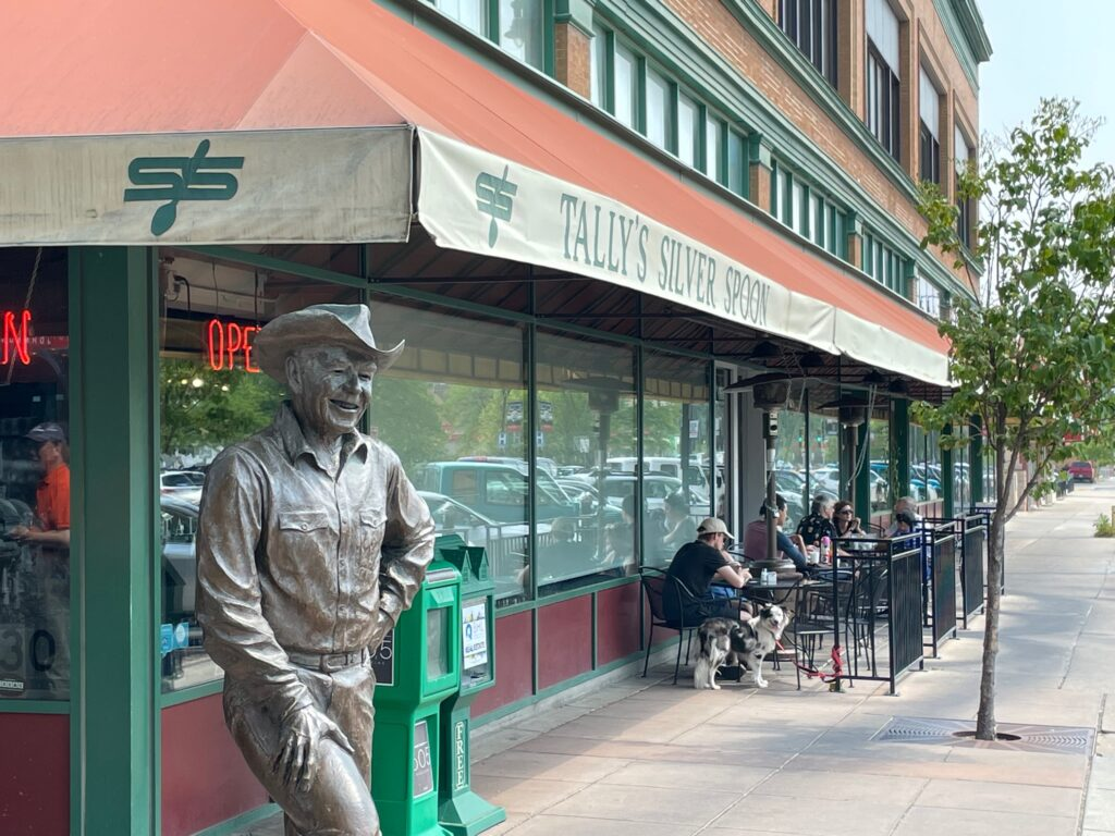 Exterior of Tally's Silver Spoon in downtown Rapid City.