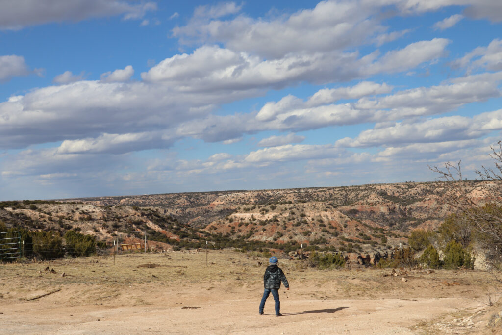 Glamping in Palo Duro Canyon