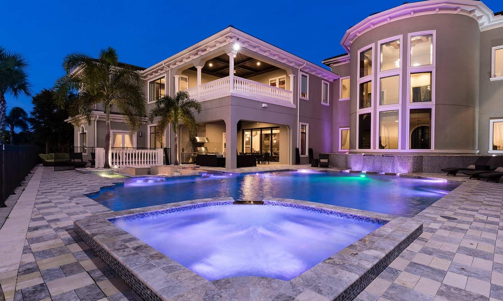 Luxury rental home near Disney with Private pool.