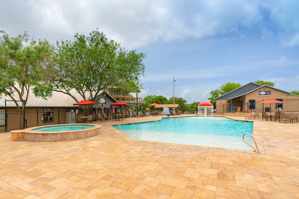 glamping in tx - Hill Country Cottages and RV Resort in New Braunfels.