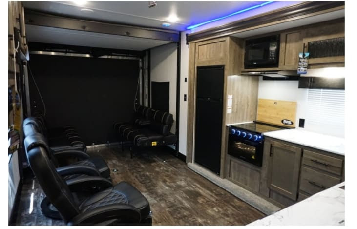 glamping in tx - rv rental for family of 4
