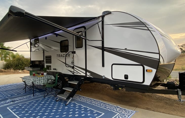 Glamping in CA - 2020 Forest River RV Tracer