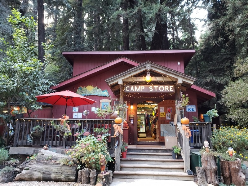 Glamping in CA - Riverside campground