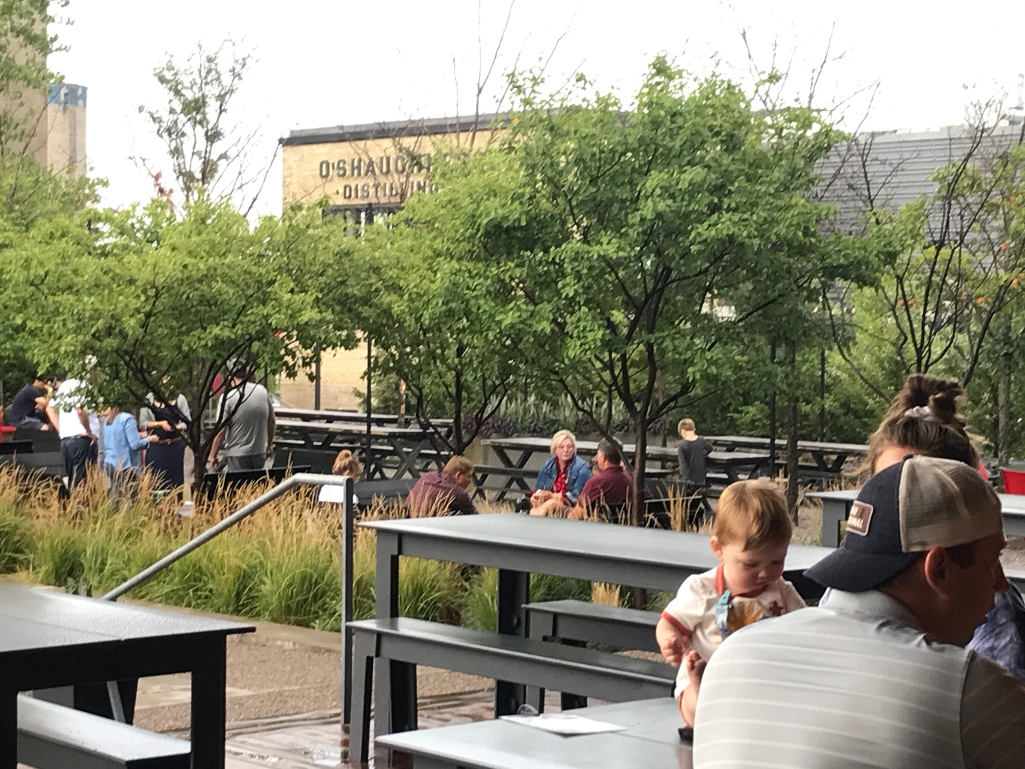 Surly outdoor seating in Minneapolis