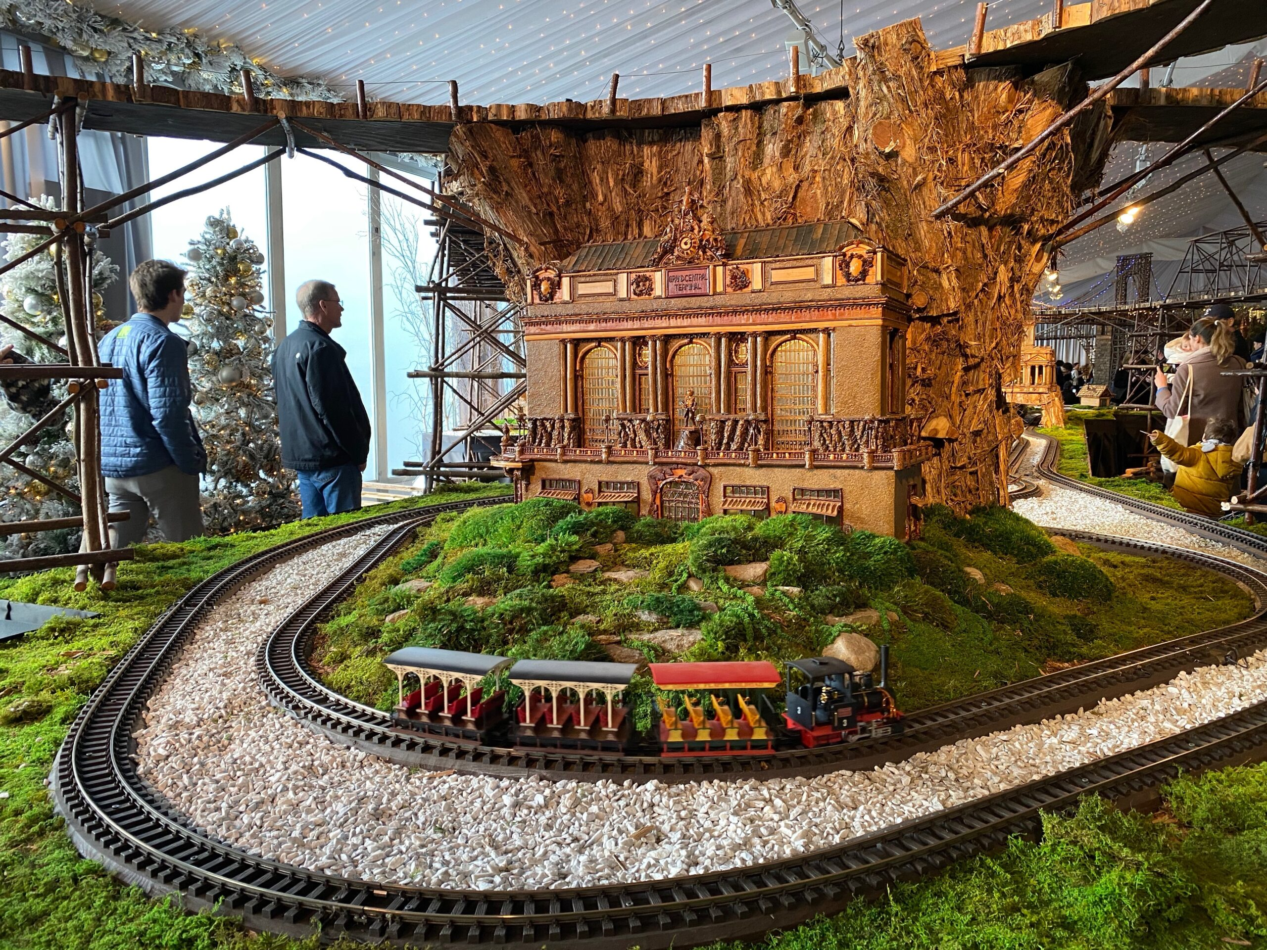 model of Grand Central Terminal at the NYBG Holiday Train Show, one of the best things to do in NYC at Christmas