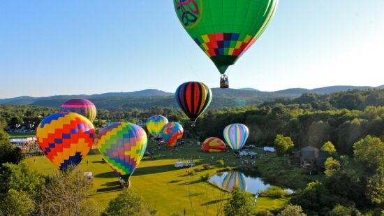 Up, up and away! A number of US cities host hot air balloon festivals during June, July and August. Things to know before you go from those who've flown.